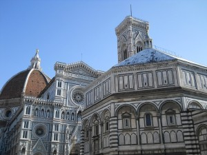 Florence - Baptistery - day view