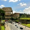 Rome - Colosseum - view from the street
