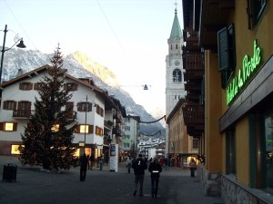 Cortina -  Dolomities - street view