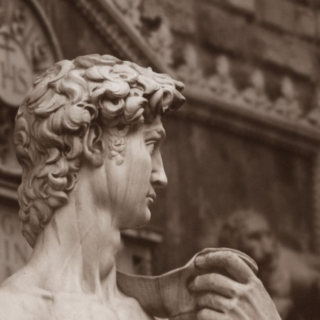 Florence - David Michelangelo - detail