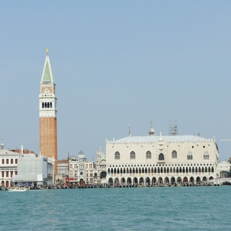 Venice - Doges Palace  - view from the lagoon