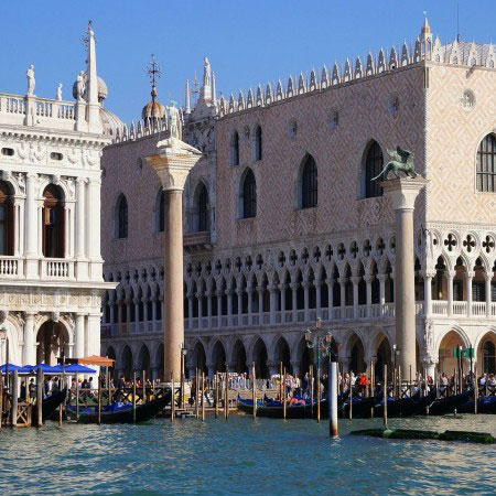 Venice - Doges Palace - side view