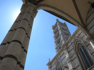 Siena - Duomo - side view