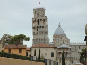 Pisa - Leaning Tower -  view
