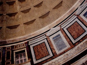 Rome - Pantheon - detail