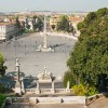 rome - Piazza del Popolo - View from the top