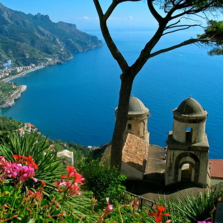 Ravello - Amalfi Coast - view from the top