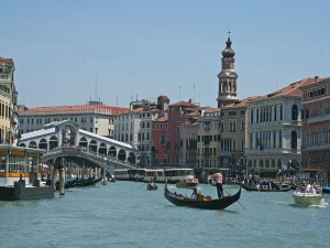 Venice - Rialto Bridge - view