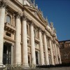 Rome - St Peter Basilica - side view