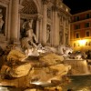 Rome - Trevi Fountain -  side view