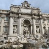 Rome - Trevi Fountain - particular