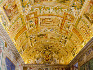 Rome - Vatican Museums - ceiling