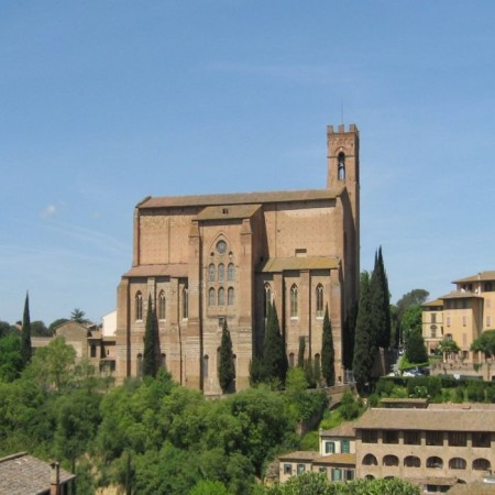 Siena  - San Domenico - View