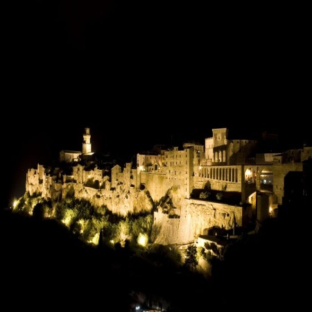Pitigliano - night view