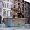 Rome - Piazza Farnese - fountain