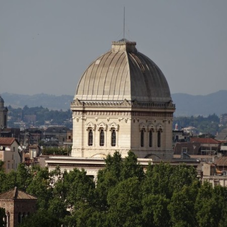 Rome - Synagogue - dome