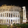 Rome - Teatro Marcello - night view