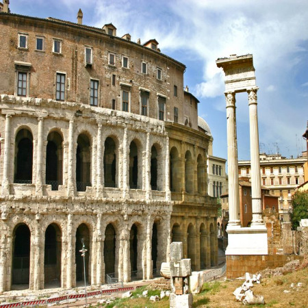 Rome - Teatro Marcello - view