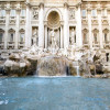 Rome - Trevi Fountain - Water