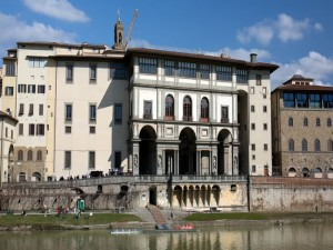 Florence - Uffizi Gallery - South View