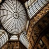 Naples - Gallery Umberto I - Glass Dome