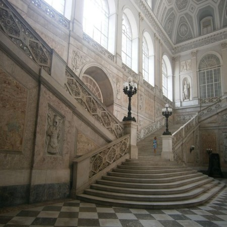 Naples - Royal Palace - Main Stairs