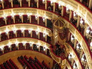 Naples - Teatro san Carlo - View from the top