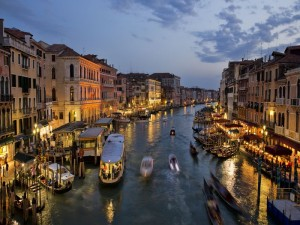 Venice - Rialto - Night View