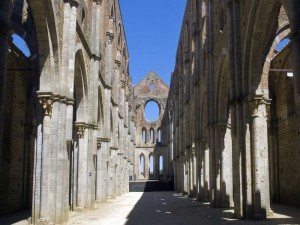 San Galgano Abbey - Interior