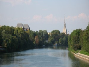 Turin - Mole Antonelliana - View from Ponte Isabella