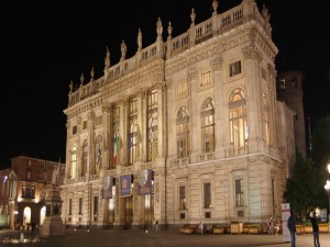 Turin - Palazzo Madama - Night View