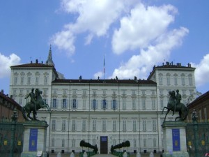 Turin - Palazzo Reale - View
