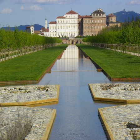 La Venaria Reale - View from the park