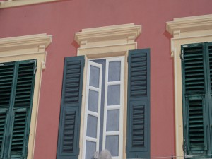 Camogli - Trompe L'oeil detail