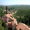 Vino Barolo - View from the Barolo Wine Museum
